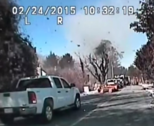 New Jersey Natural Gas House Explosion Video
